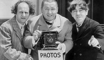 `The Three Stooges': eternally sophomoronic message and medium