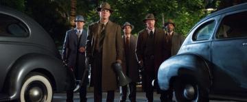 From left, Ryan Gosling, Josh Brolin, Michael Pena, Robert Patrick and Anthony M