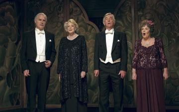 Kerry Brown, Billy Connolly, Maggie Smith, Tom Courtenay and Pauline Collins fin