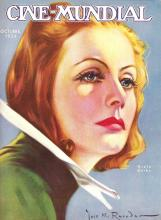 Greta Garbo, Cine-Mundial - 1934 October