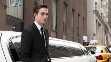 "Robert Pattinson rarely leaves the car in ""Cosmopolis"""