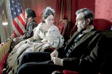 Gloria Reuben as Elizabeth Keckley, Sally Field as Mary Todd Lincoln and Daniel
