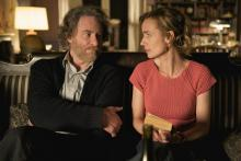 """Kevin Kline and Sandrine Bonnaire in """"Queen to Play"""""""