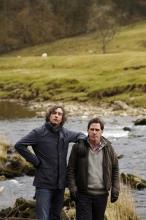 """Steve Coogan, left, and Rob Brydon excel in verbal jousting in """"The Trip."""""""